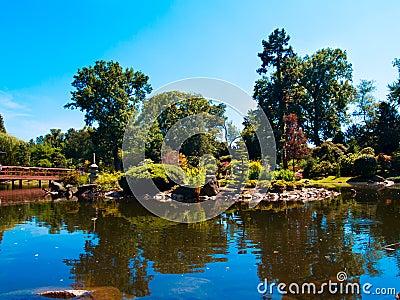 Japan garden, Wroclaw, Poland