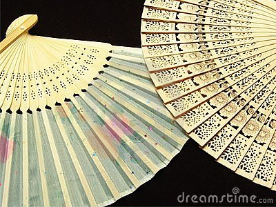 Japan hand fan