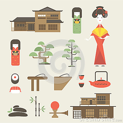 Free Japan Icons Stock Images - 30581084