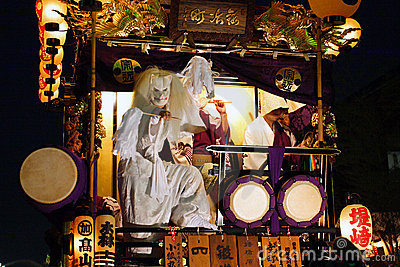 Japan : Kawagoe Festival Editorial Stock Image
