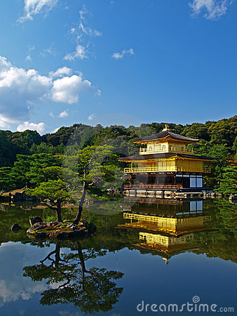 Free Japan Kyoto Kinkakuji Royalty Free Stock Images - 10914659