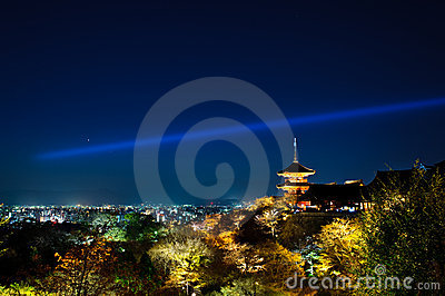 Japan Kyoto Light-up