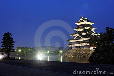 Japan : Matsumoto Castle at Night