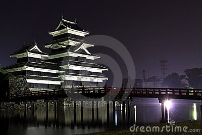 Japan : Matsumoto Castle at Night