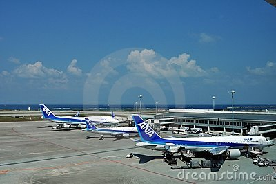Japan s ANA Airlines Editorial Stock Photo
