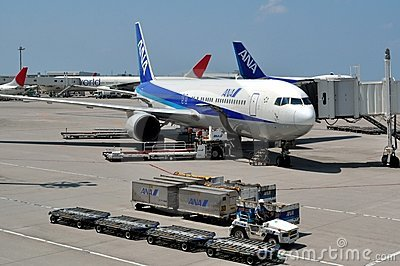 Japan s ANA Airlines Editorial Photography
