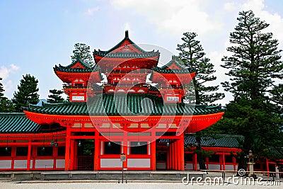 Japan s Heian Shrine