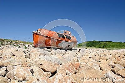 Japan sea. Safe boat 4