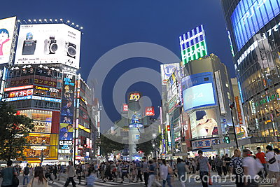 Japan : Shibuya Editorial Image