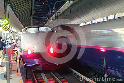 Japan : Shinkansen Editorial Photo