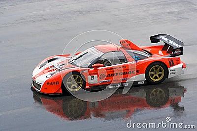 Japan Super GT 2009 - Autobacs Racing Team Aguri Editorial Stock Photo
