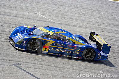 Japan Super GT 2009 - Team Cars Tokai Dream28 Editorial Photography