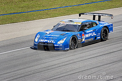 Japan Super GT 2009 - Team Impul Editorial Photography