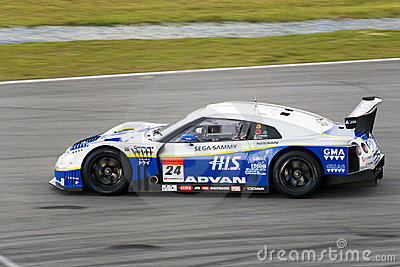 Japan Super GT 2009 - Team Kondo Racing Editorial Stock Image