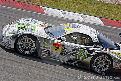 Japan Super GT 2009 - Team M7 RE Amemiya Racing Editorial Photography