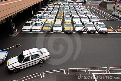 Japan Taxi Editorial Stock Photo