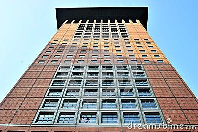 Japan tower center in Frankfurt