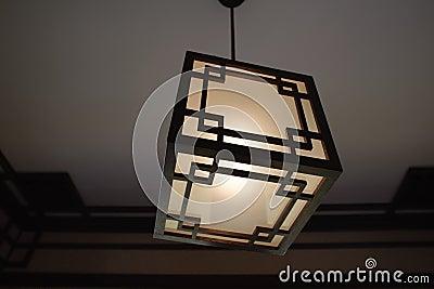Japan wooden lantern