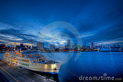 Japan Yokohama Osanbashi Pier