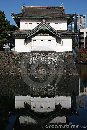 Japanese Ancient Castle in Tokyo