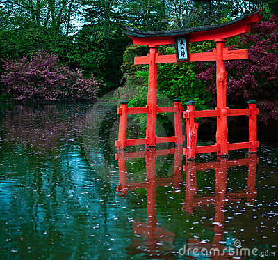 Japanese Ancient Gate
