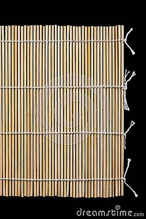 Japanese bamboo sushi mat