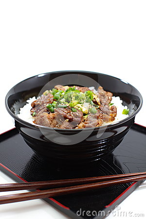 More similar stock images of ` Japanese Beef bowl, Gyudon `
