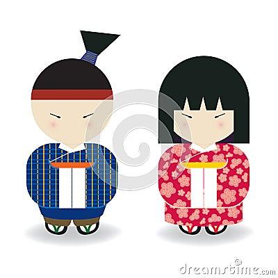 Japanese Boy & Girl