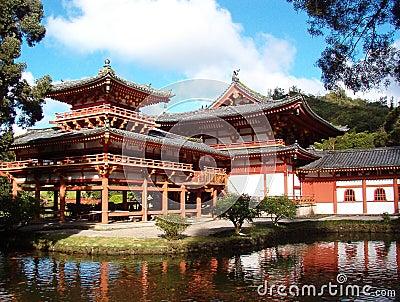 Japanese Buddhist Temple in Hawaii