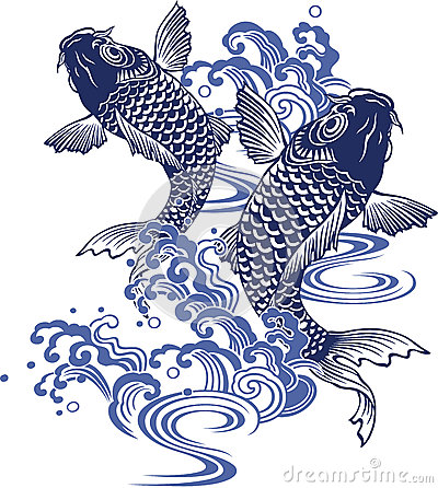 Free Japanese Carp Royalty Free Stock Photos - 41754818