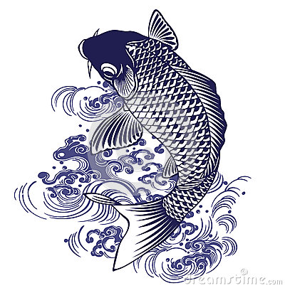 Free Japanese Carp Royalty Free Stock Images - 42879449