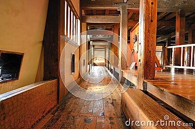Japanese Castle Hallway
