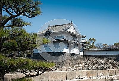 Japanese castle in Osaka