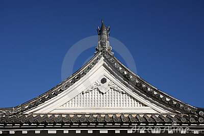 Japanese Castle Roof