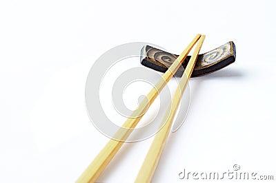 Japanese chopsticks made of bamboo