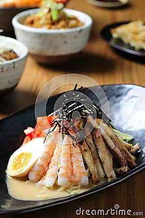 Japanese Cold Noodles Salad