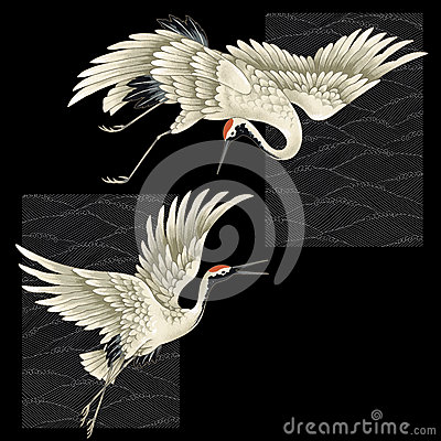 Free Japanese Crane Royalty Free Stock Images - 43534929
