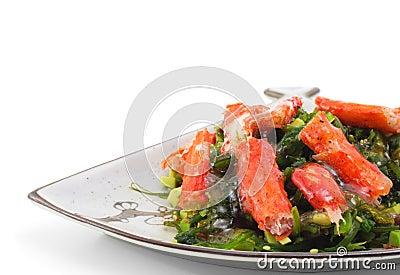 Japanese Cuisine - Crab sticks Salad