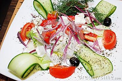 Japanese Cuisine Greece salad