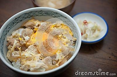Japanese Cuisine oyakodon