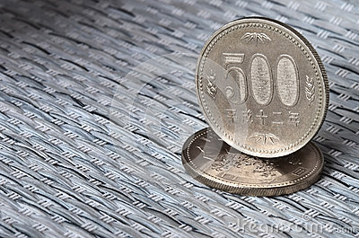 Japanese currency coins