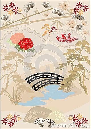 Free Japanese Design Elements I Royalty Free Stock Image - 7826356