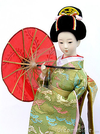 Free Japanese Doll Royalty Free Stock Images - 823009