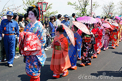 Japanese Festival Editorial Stock Photo