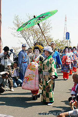 Japanese Festival Editorial Image