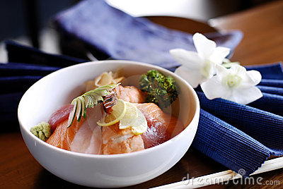 Japanese fish based dish