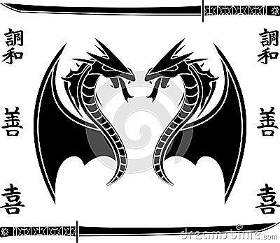 Japanese flying dragons