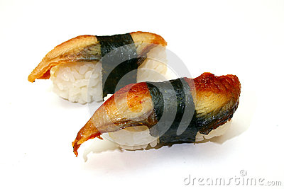 Japanese food eel