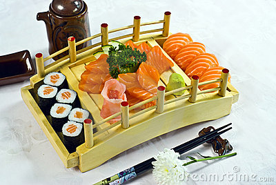 Japanese Food,  Menu Salmon