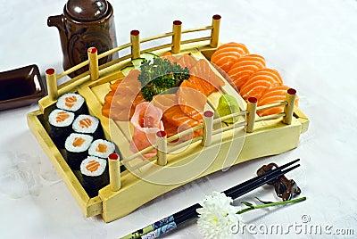 Japanese Food,  Menu Salmon